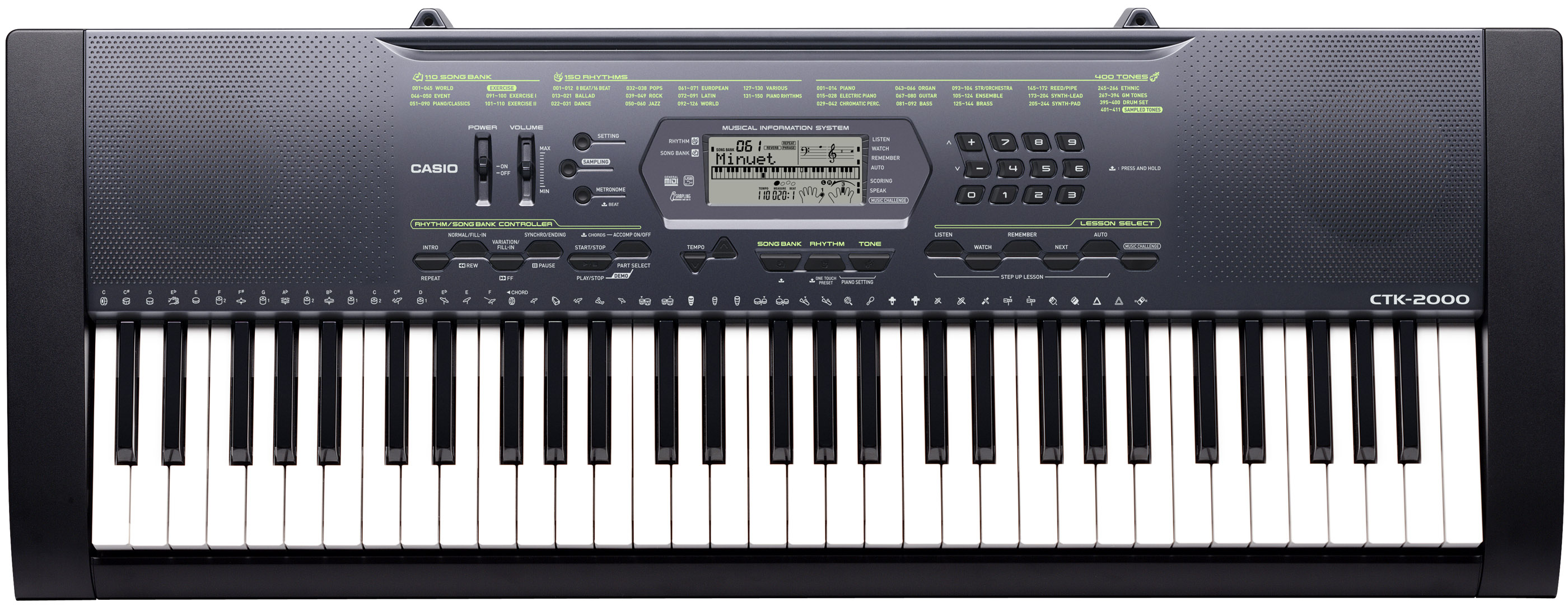 how to connect casio ctk 2400 to computer